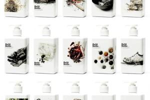 Kinetic Refill Bottle 洗涤产品清洁剂包装设计