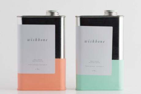 Wishbone金属罐咖啡产品包装设计