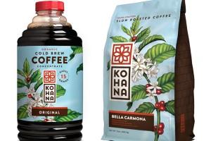 Kohana复古咖啡插画风格包装设计欣赏