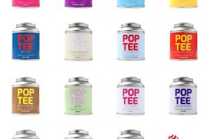 Pop Tee茶罐包装设计欣赏