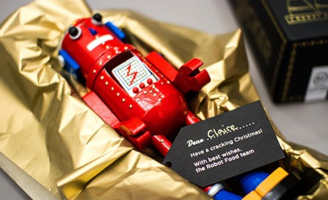 Robot Food机器人装饰摆件包装设计欣赏