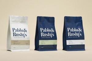 Pablo & Rusty's 咖啡包装设计