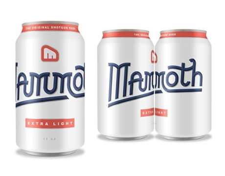 猛犸啤酒包装设计 Mammoth Beer