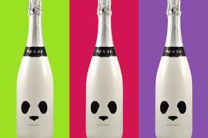 熊猫香槟包装设计 Panda Champagne