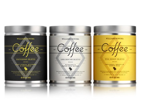 Williams-Sonoma 咖啡罐标签设计