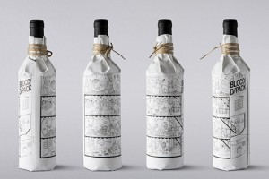 BLOCD/ 圣诞促销 酒包装设计