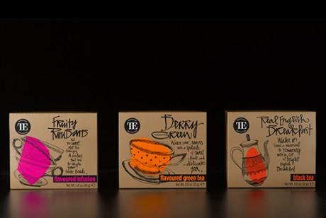 独家茶馆(Teahouse Exclusives)的新茶叶包装