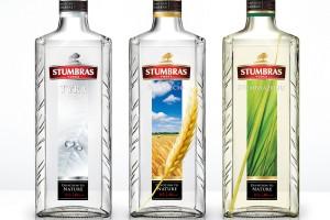 酒产自立陶宛的一种伏特加酒STUMBRAS VODKA包装设计
