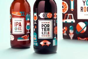 Patswerk7周年纪念啤酒包装设计