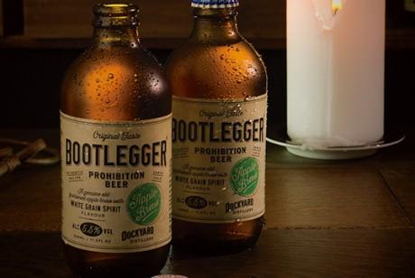 Bootlegger苹果酒包装设计