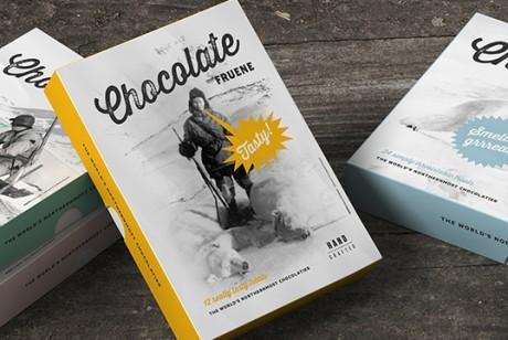 Fruene巧克力天地盖包装设计