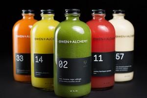 Owen + Alchemy鲜榨果汁包装设计欣赏