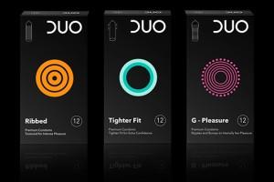 DUO 避孕套包装设计