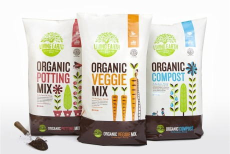 Living Earth有机复合化肥产品包装设计