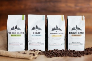 Woods咖啡包装设计作品欣赏