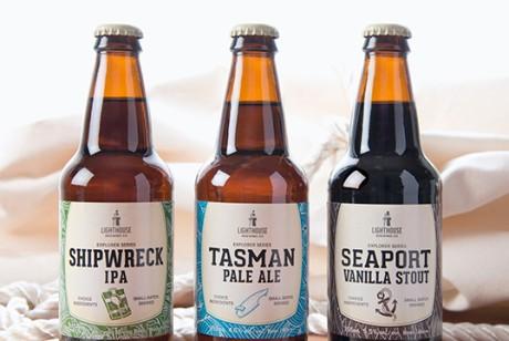 Lighthouse Brewing 系列啤酒包装设计