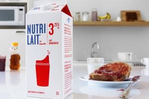 Nutrilait 牛奶包装设计