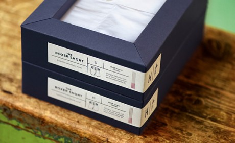 Hamilton and Hare 服装包装设计欣赏