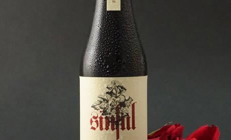 Sinful精酿啤酒包装设计