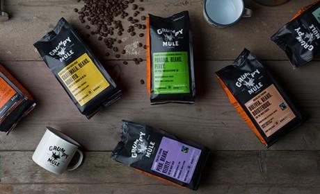 Grumpy Mule咖啡品牌包装设计