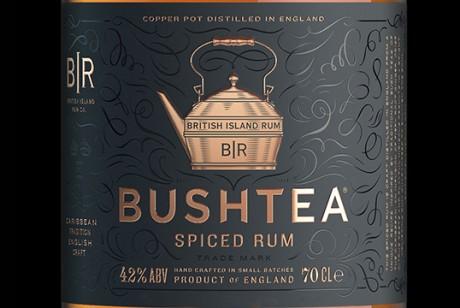 英国品牌Bushtea朗姆酒包装设计