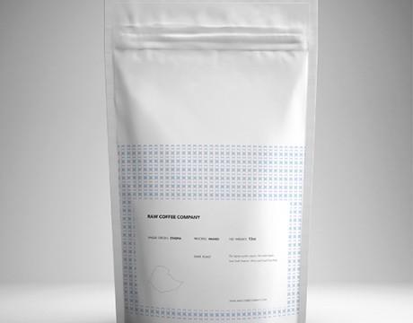 Raw Coffee咖啡包装袋设计