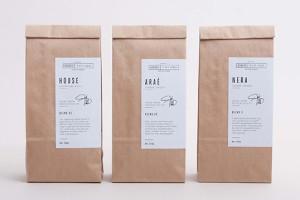 Street Fifty Eight 极少主义咖啡包装设计欣赏