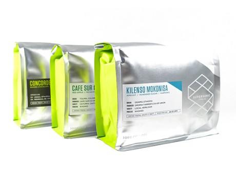 Supersonic 咖啡包装设计