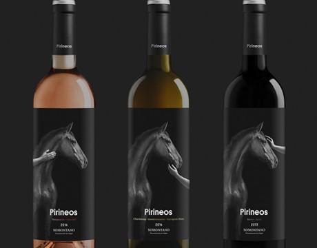 Pirineos酒包装设计
