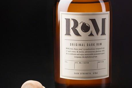 RM 朗姆酒包装设计