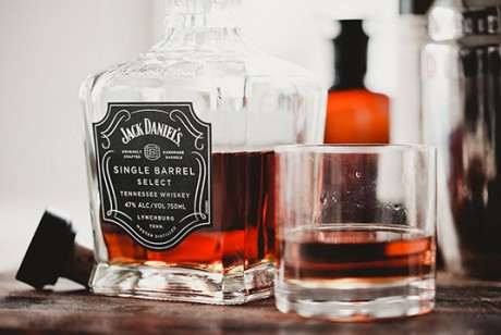 JackDaniel's单桶威士忌酒包装设计欣赏