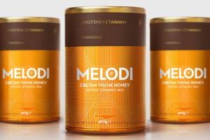 MELODI蜂蜜包装设计欣赏