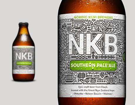 NKB工艺啤酒 包装设计