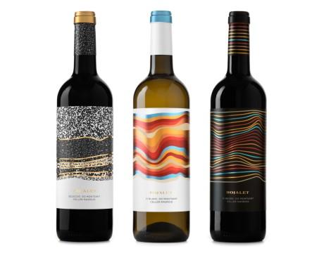 Rojalet葡萄酒岩层系列包装设计