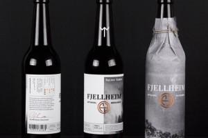 挪威Fjellheim酒包装设计