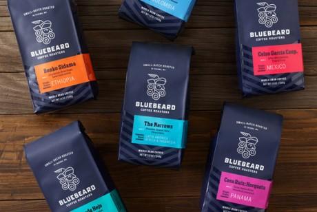BlueBeard烘焙咖啡包装设计