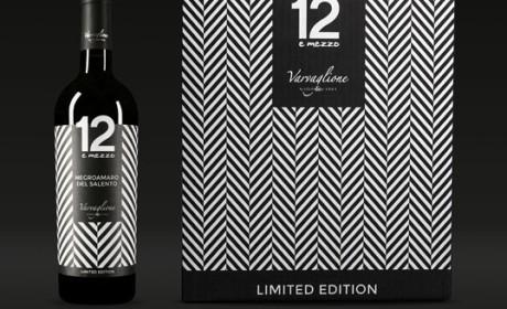 意大利varvaglione限量版葡萄酒包装设计