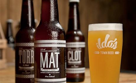 Ilda's镇啤酒包装设计