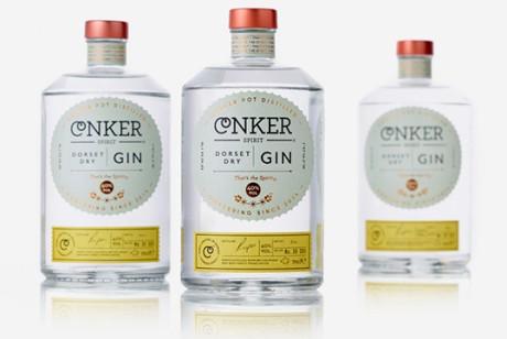 Conker Spirit杜松子酒包装设计