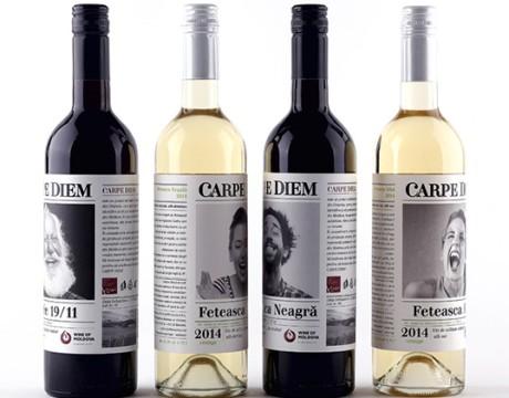 潮流制定者,活在当下葡萄酒包装设计