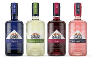 Warner Edwards杜松子酒包装设计