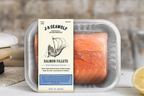 J.A.SEAWOLF鱼肉包装设计