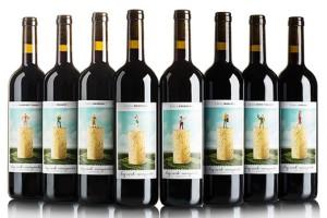 大软木葡萄园酒包装设计