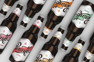 印度Perintö水果味啤酒包装设计