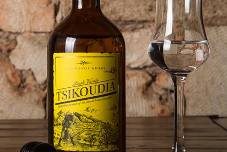 Tsikoudia葡萄酒包装设计