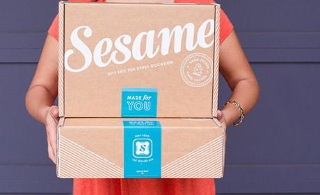 芝麻街Sesame快递盒包装设计