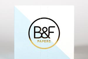 B&F Papers特种纸包装设计