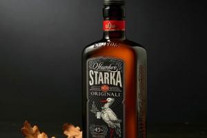 立陶宛Stumbro Starka伏特加酒包装设计。