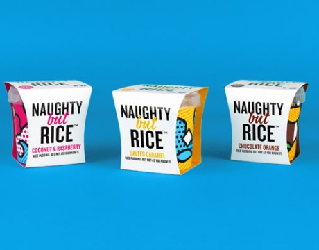 Naughty But Rice布丁包装设计