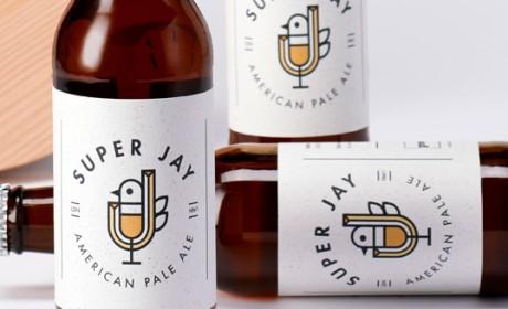 美国Super Jay精酿啤酒包装设计